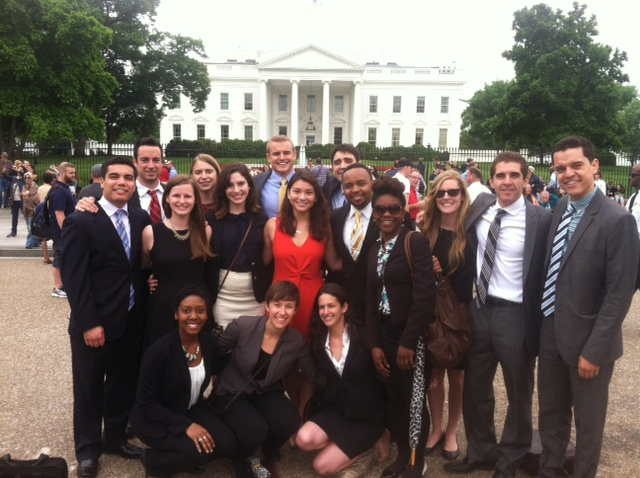 front of white house group